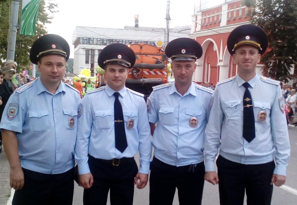 Благодаря полицейским День города прошел без потрясений