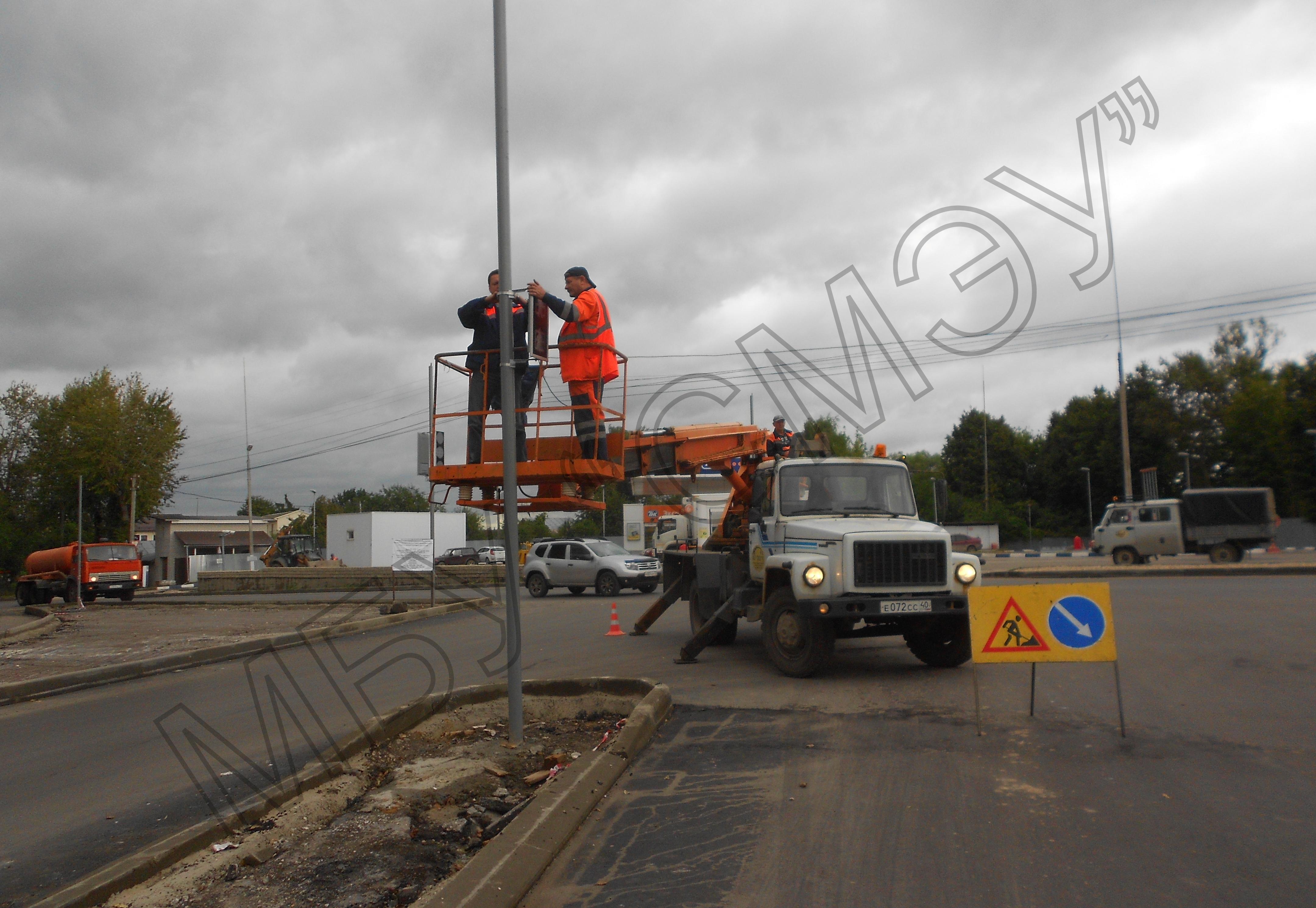 В Калуге на Киевке установили светофор