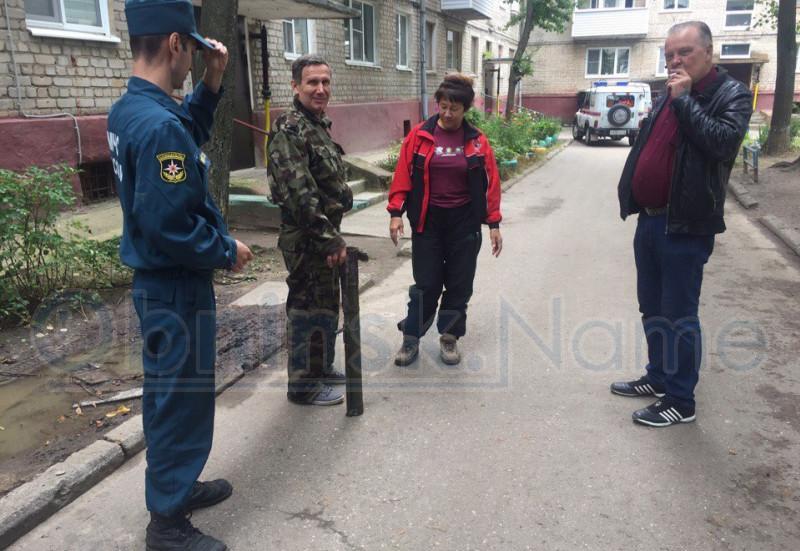 В Обнинске в подвале жилого дома нашли гранатомет