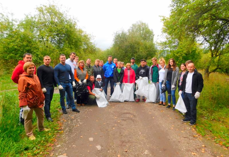 Активисты ТОС «Наш Терепец» приняли участие в экологическом субботнике «Зелёная Россия»