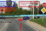 В Обнинске произошло ДТП с участием учебной машины