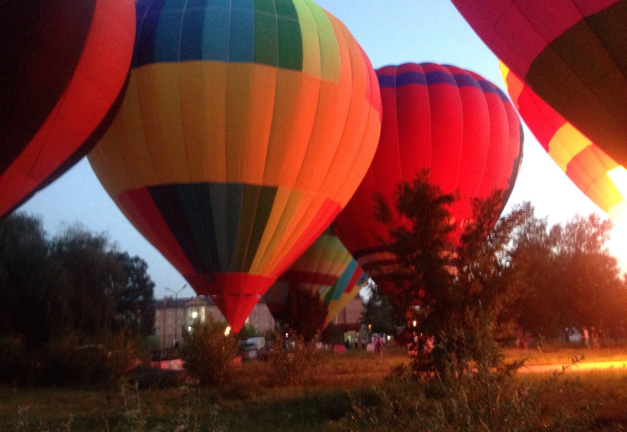 Калужская сборная участвует в Международном фестивале воздухоплавателей