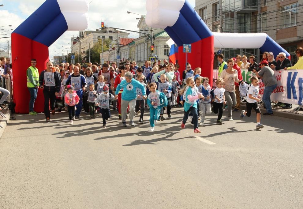 """""""Кросс нации"""" в Калуге пробежали около 5,5 тысяч человек. Фотоотчет"""