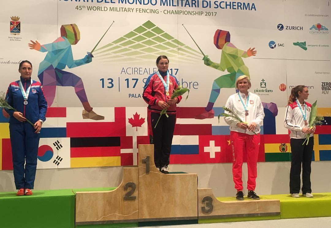 Калужанка привезла золотую медаль с Чемпионата мира
