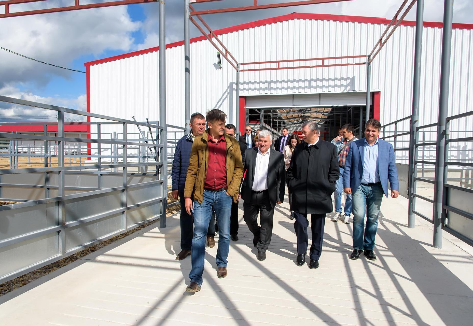 В Калужской области завершается строительство животноводческого комплекса за 212 млн.рублей