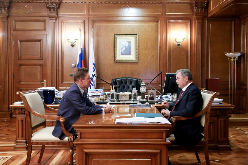 Газпром иКалужская область заключили договор огазификации на2017-2020гг