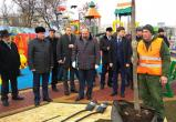 Федеральный министр посетил новый калужский парк