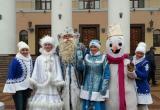 Дед Мороз проинспектировал установку главной новогодней ёлки Калуги