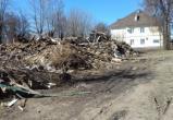 В Куровском снесли расселенный дом