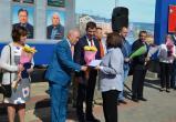 В Калуге прошло открытие обновлённой Доски Почёта