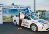 Калужанин принял участие в глобальном забеге в Тайване