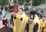 Мощи православных святых доставили в Никитский храм