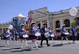 Калужские барабанщицы установили в Питере рекорд России