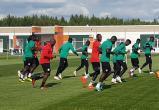 Сенегальцы начали тренироваться в Калуге