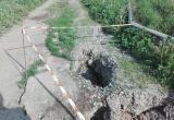 Активисты контролируют ремонт дороги к одной из калужских деревень