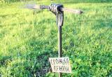 В Калужской области появился памятник с..ному венику