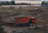Калужанам мешают жить круглосуточные работы на месте стадиона «Центральный»