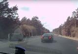 Matiz с четырьмя детьми перевернулся в Калужском бору (видео)
