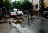 Непогода принесла разрушения в Калугу