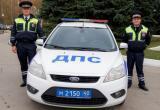 Восстание машин: инспекторы ДПС спасли ребенка из сломанной иномарки