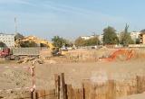 Соседи стройки Дворца спорта боятся обрушения стен в своих домах (видео)