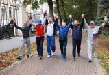 Калужане отметили Всероссийский день ходьбы