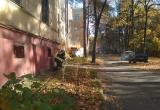 В Обнинске сгорела машина, есть пострадавший