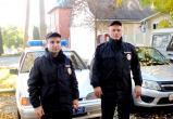 Полицейские толкали машину замёрзших студентов