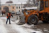 Калужские коммунальщики проходят проверку снегом