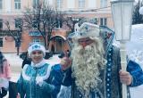В Калугу прибыл Дед Мороз