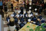 Оркестр МЧС сыграл в калужском торговом центре