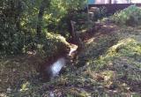 Калужский предприниматель засыпал природный памятник мусором