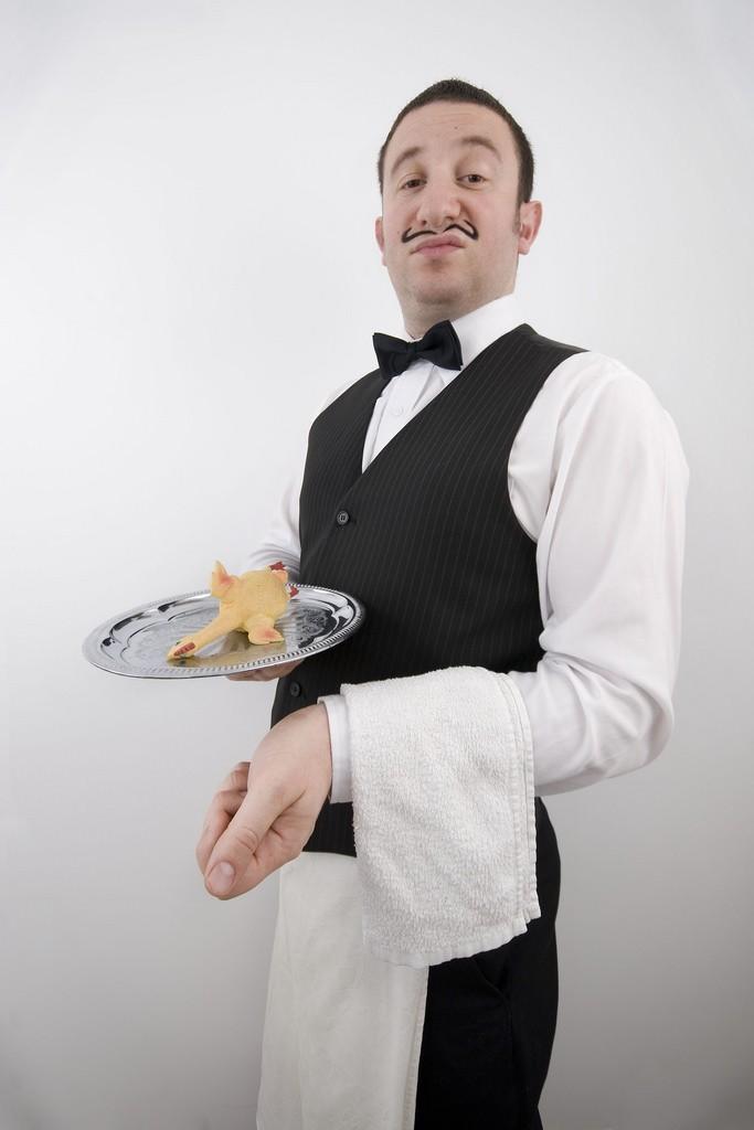 Картинки приколы официант