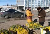 Калужские власти воюют с нелегальными торговцами цветами
