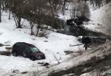 Водитель иномарки вылетел с моста и погиб