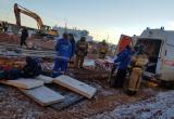 Рабочий погиб в результате несчастного случая на Правом берегу