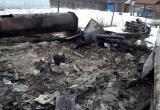 Следователи устанавливают личность погибшего в пожаре человека