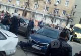 Автомобилистка протаранила коляску с ребенком в центре Калуги