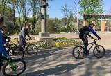 Градоначальник провел планерку на велосипедах