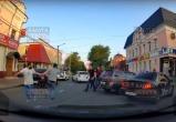 Утром в центре Калуги раздались выстрелы