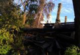 На пепелище пожара обнаружен неопознанный труп