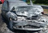 В страшной аварии на М-3 погибла пассажирка, водитель госпитализирован