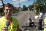Дорожная инспекция не оценила яму в форме сердечка (видео)