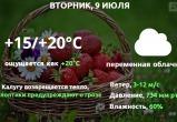 Прогноз погоды в Калуге на 9 июля