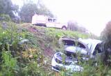 Ребенок и двое взрослых пострадали в лобовом столкновении авто