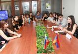 Сотрудничество молодёжных организаций обсудили в Ереване