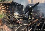 Женщина погибла при пожаре на даче