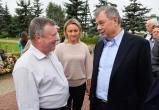 Губернатор осмотрел благоустройство территорий в Дзержинском районе