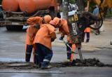 Водоканал убирает водопроводные колодцы с дорог