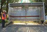 В Калуге устанавливают антивандальные остановки